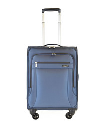 Windsor navy spinner suitcase 55cm