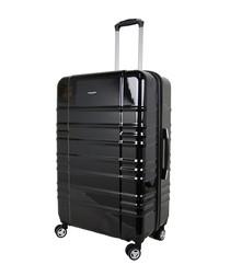 Sloan black spinner suitcase 78cm