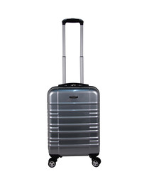 Sloan silver spinner suitcase 56cm