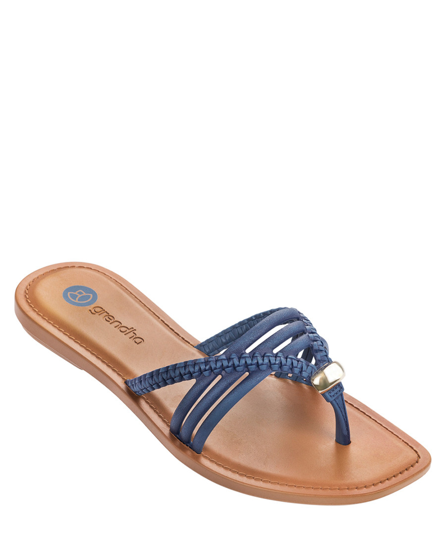 e3374d9a898c93 Gypsy navy strappy sandals Sale - Grendha