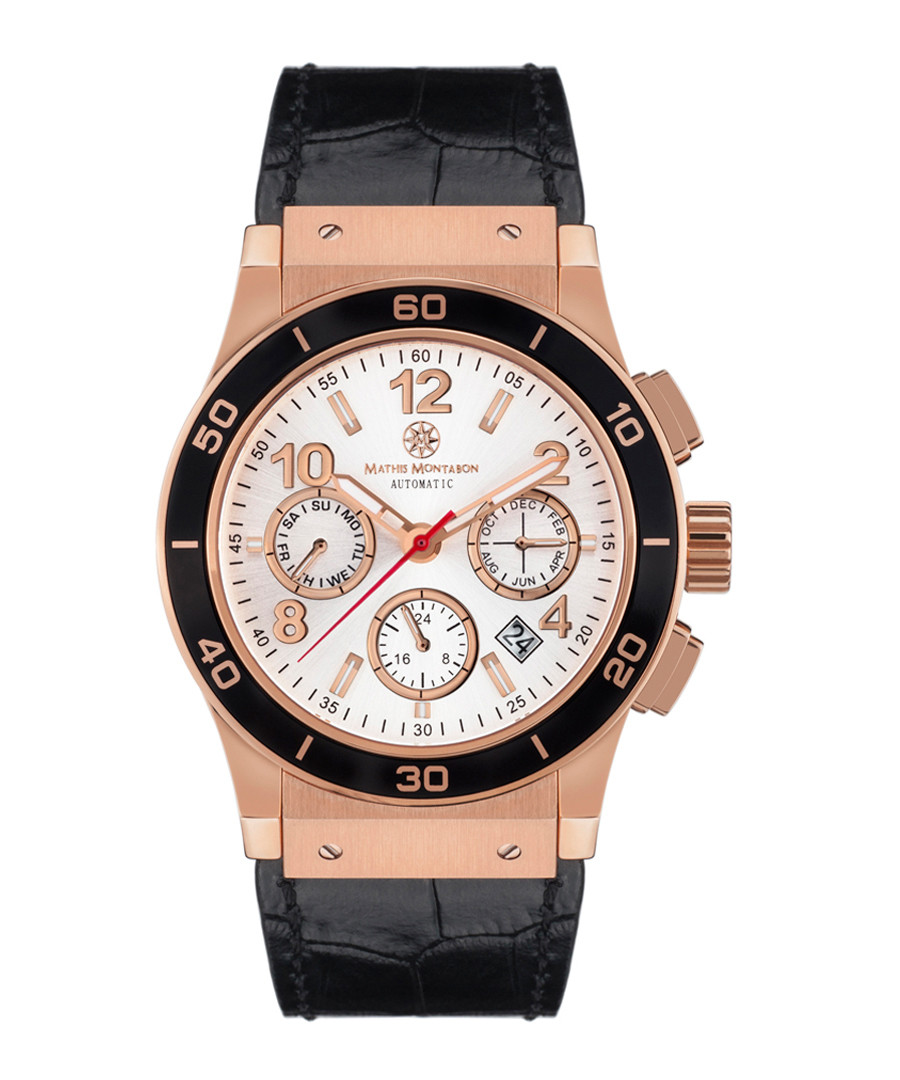 Noblesse white & rose gold-tone watch Sale - mathis montabon
