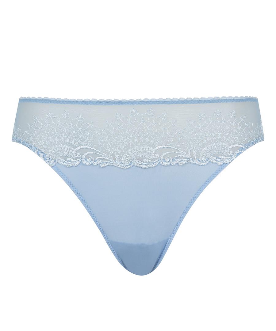 Blue lace briefs  Sale - Wacoal