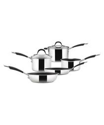 5pc Momentum stainless steel pan set