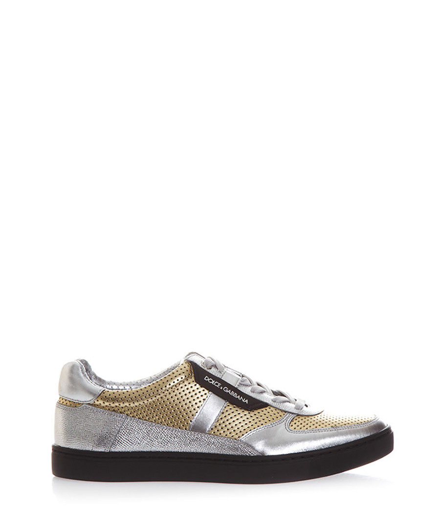 Men's London dual-tone leather sneakers Sale - dolce & gabbana
