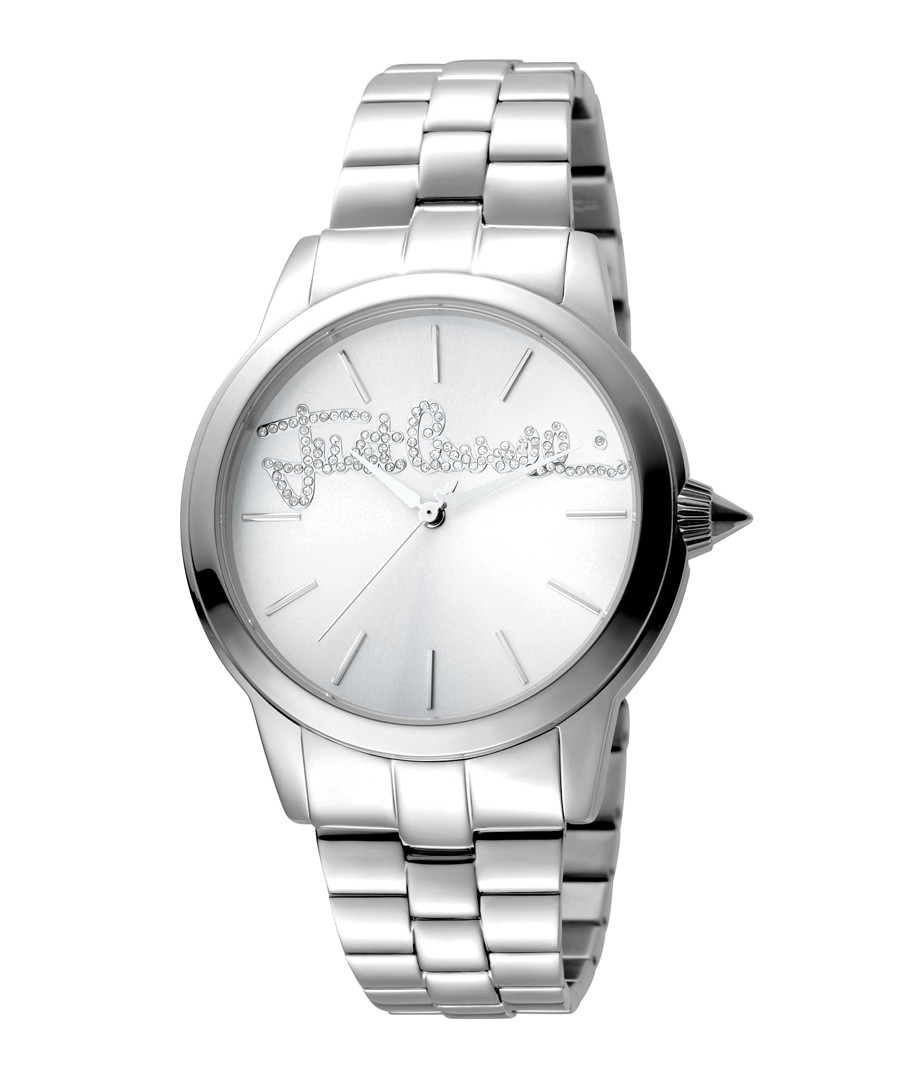Silver-tone steel bracelet watch Sale - JUST CAVALLI