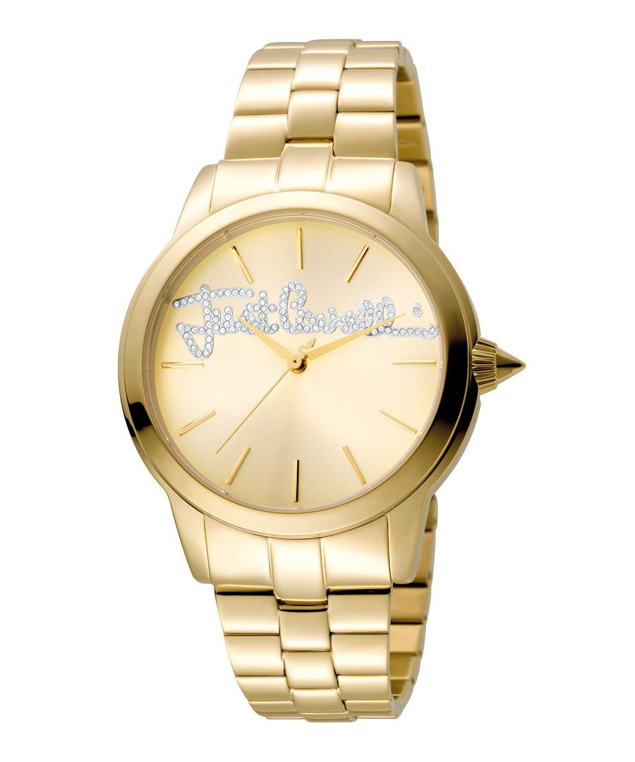 Gold-tone steel watch Sale - just cavalli