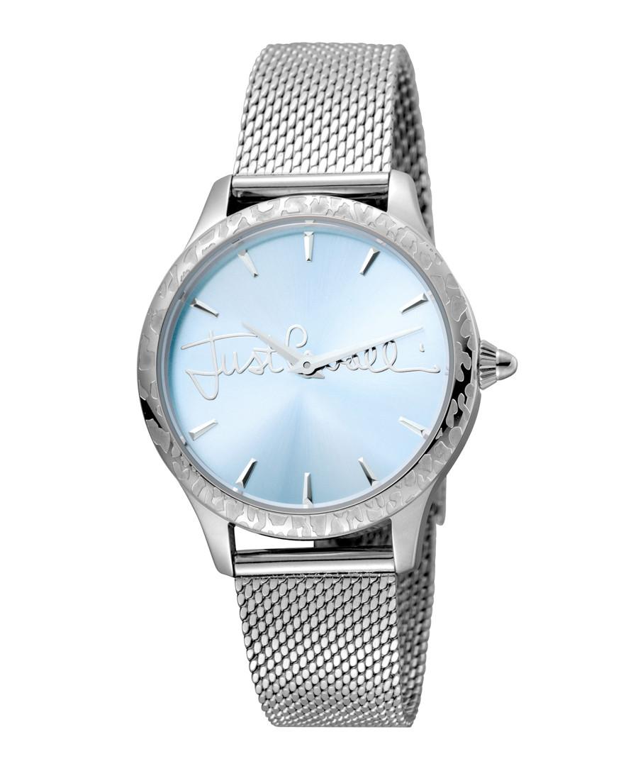 Blue & steel mesh watch Sale - JUST CAVALLI