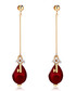 Locker Pearl 18ct gold-plated earrings Sale - caromay Sale