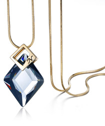 Number N 18ct gold-plated necklace
