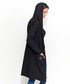 Black cotton blend hooded cardigan Sale - numinou Sale