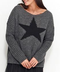 Graphite star jumper
