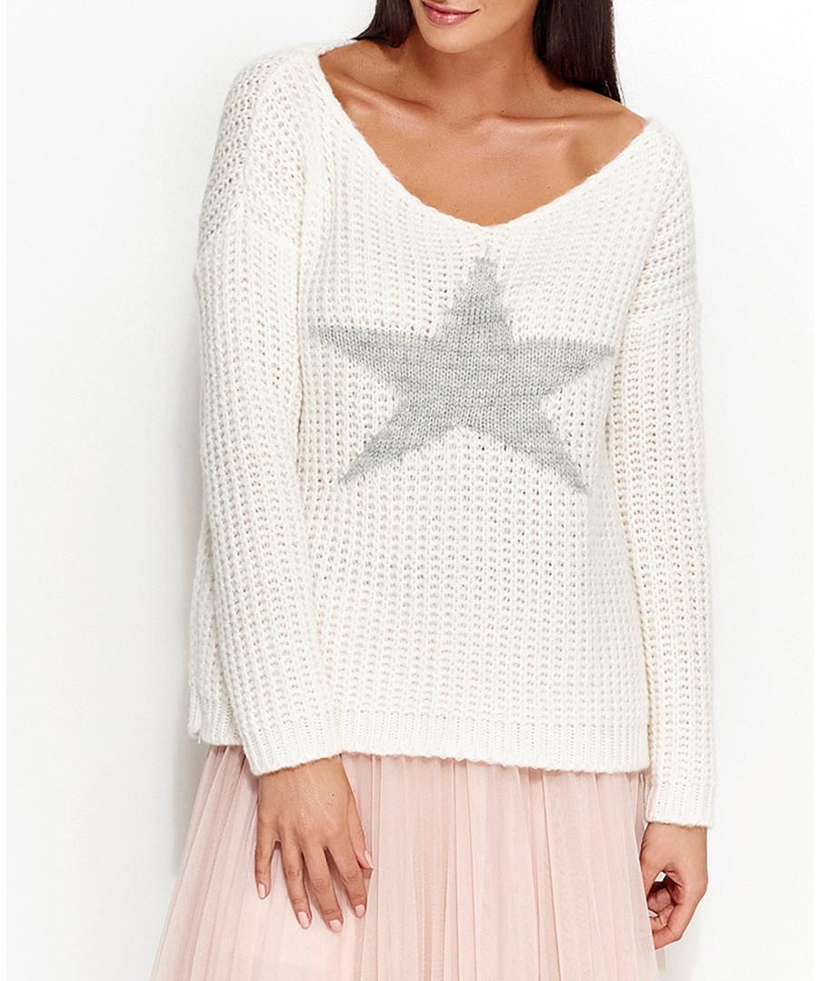 White star jumper Sale - numinou