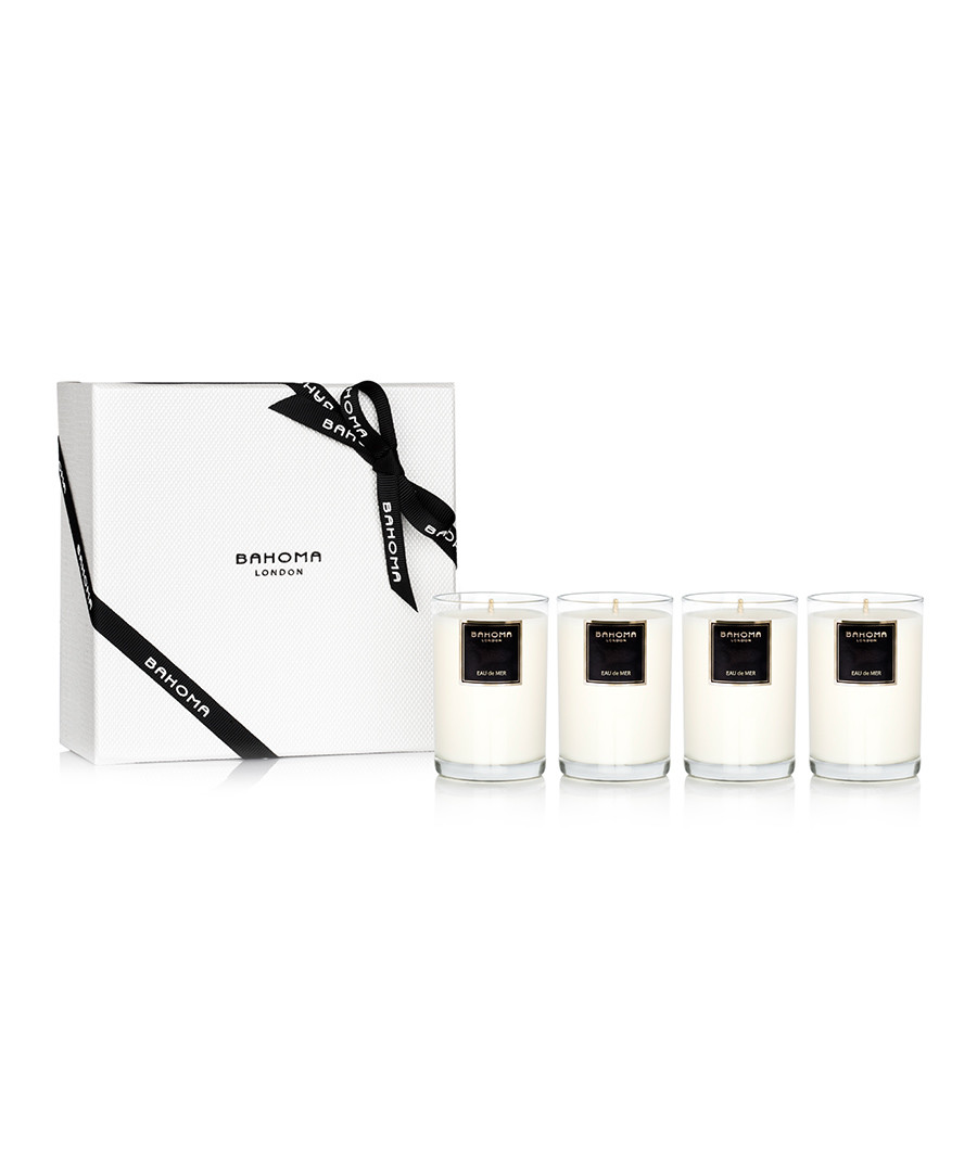 4pc Eau de Mer candle boxed set Sale - Bramosia