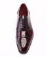 Bordeaux leather marbled lace-ups Sale - S'BAKER Sale