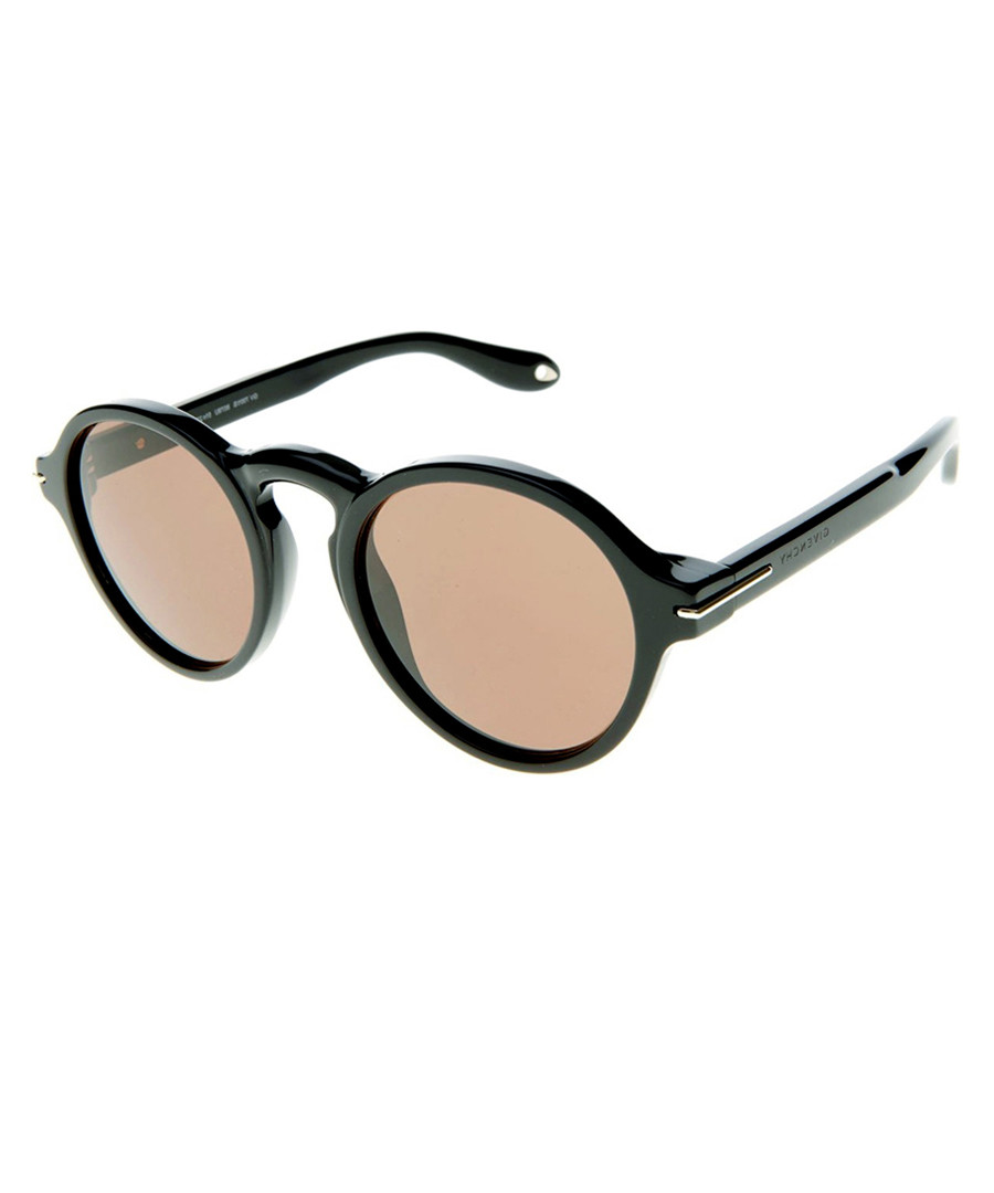7c91ac4a98 Black   brown round sunglasses Sale - GIVENCHY