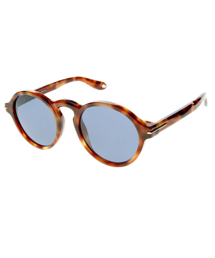 25714e00c Discount Tortoiseshell round sunglasses | SECRETSALES