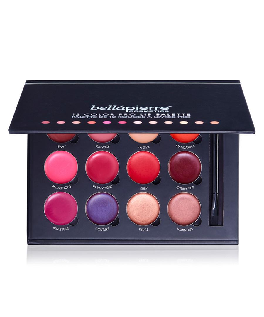 Pro 12 colour lip palette  Sale - bellapierre