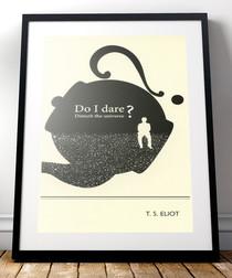 T.S Eliot framed print