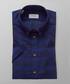 Blue check short sleeve shirt Sale - ETON Sale