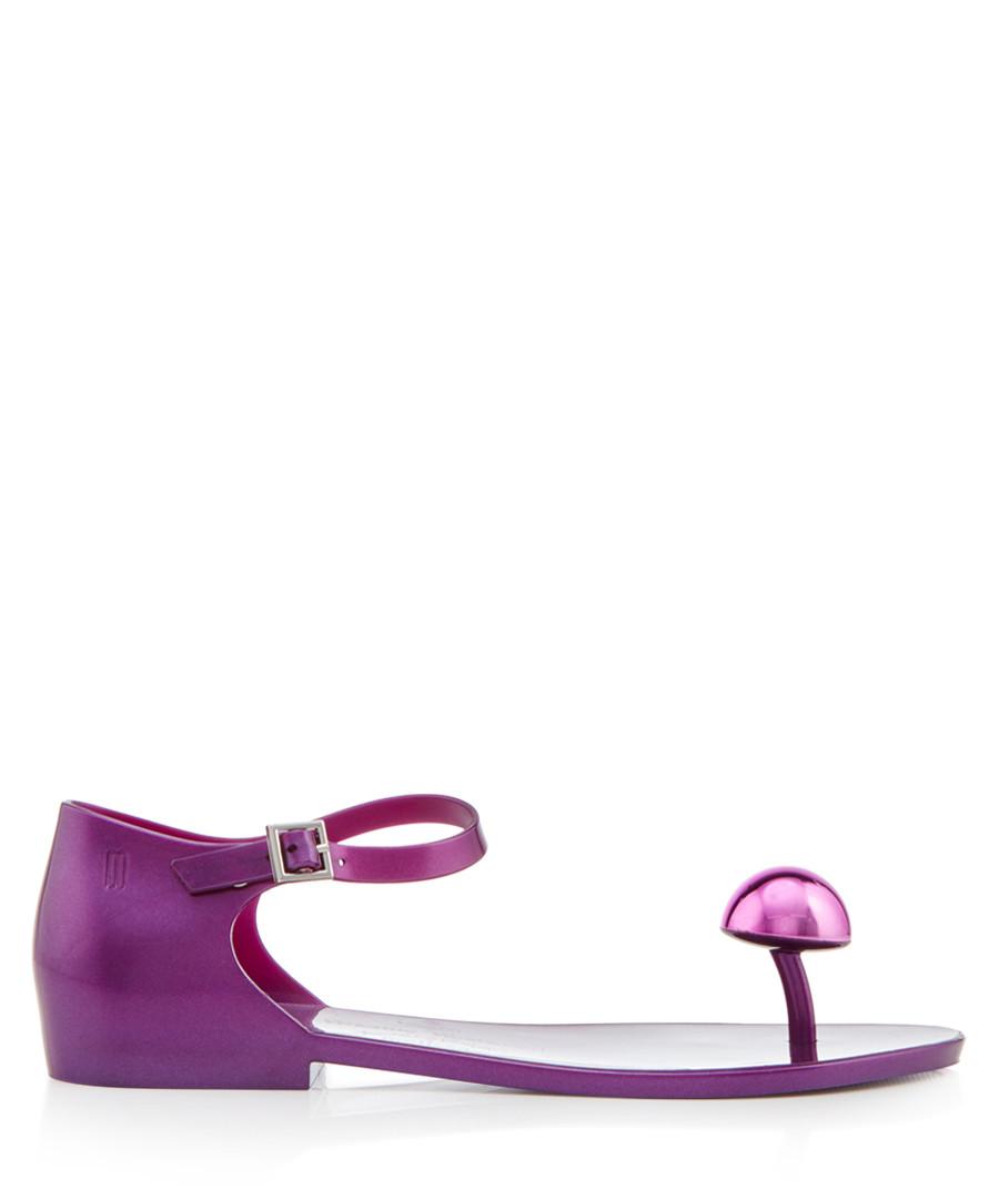 Honey purple dome sandals Sale - Vivienne Westwood Melissa Shoes