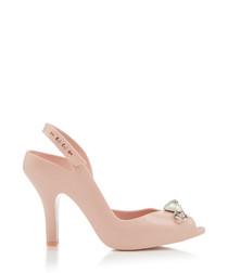 Lady Dragon blush pin heels