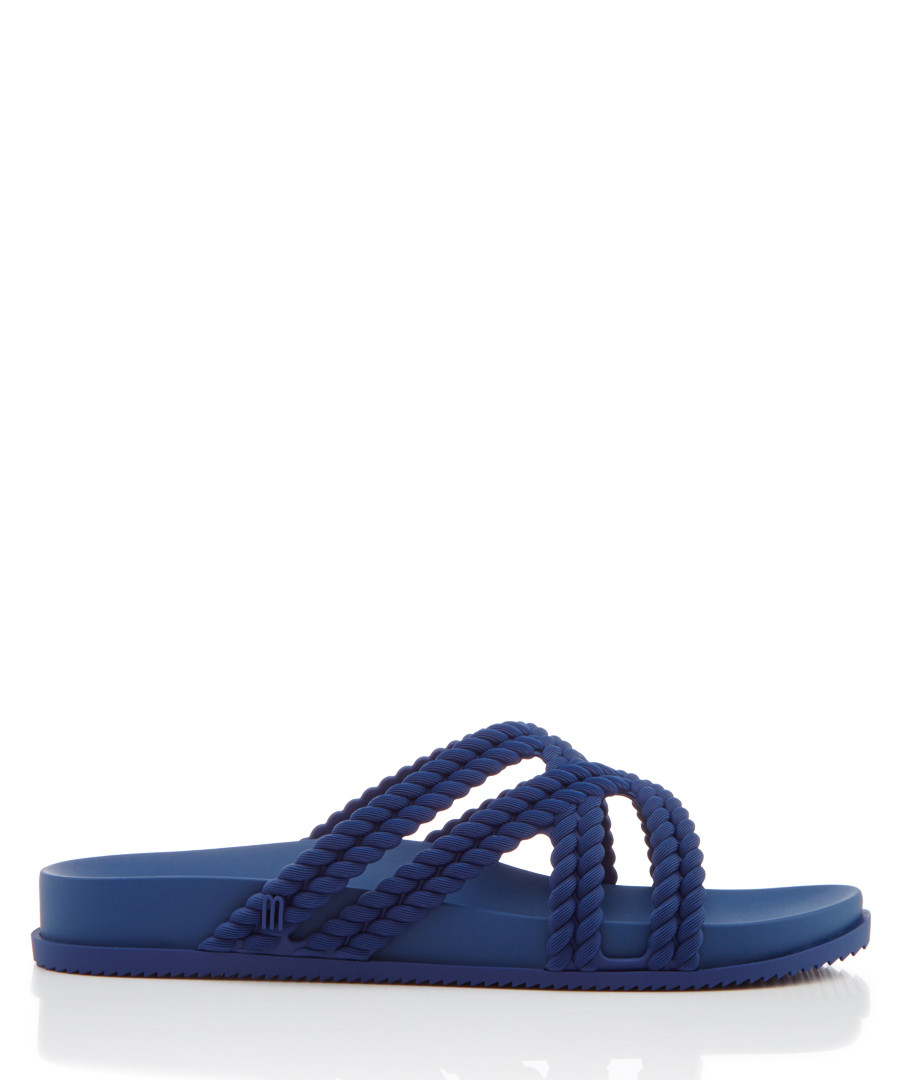 Salinas Cosmic navy strap sandals Sale - melissa shoes