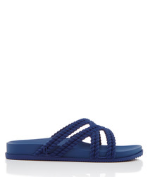 Salinas Cosmic navy strap sandals