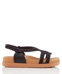 Salinas Cosmic black & beige sandals