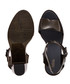 Mar black glitter strappy heels Sale - melissa shoes Sale