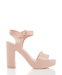 Mar blush strappy heels