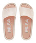 Blush marble rubber sliders Sale - melissa shoes Sale
