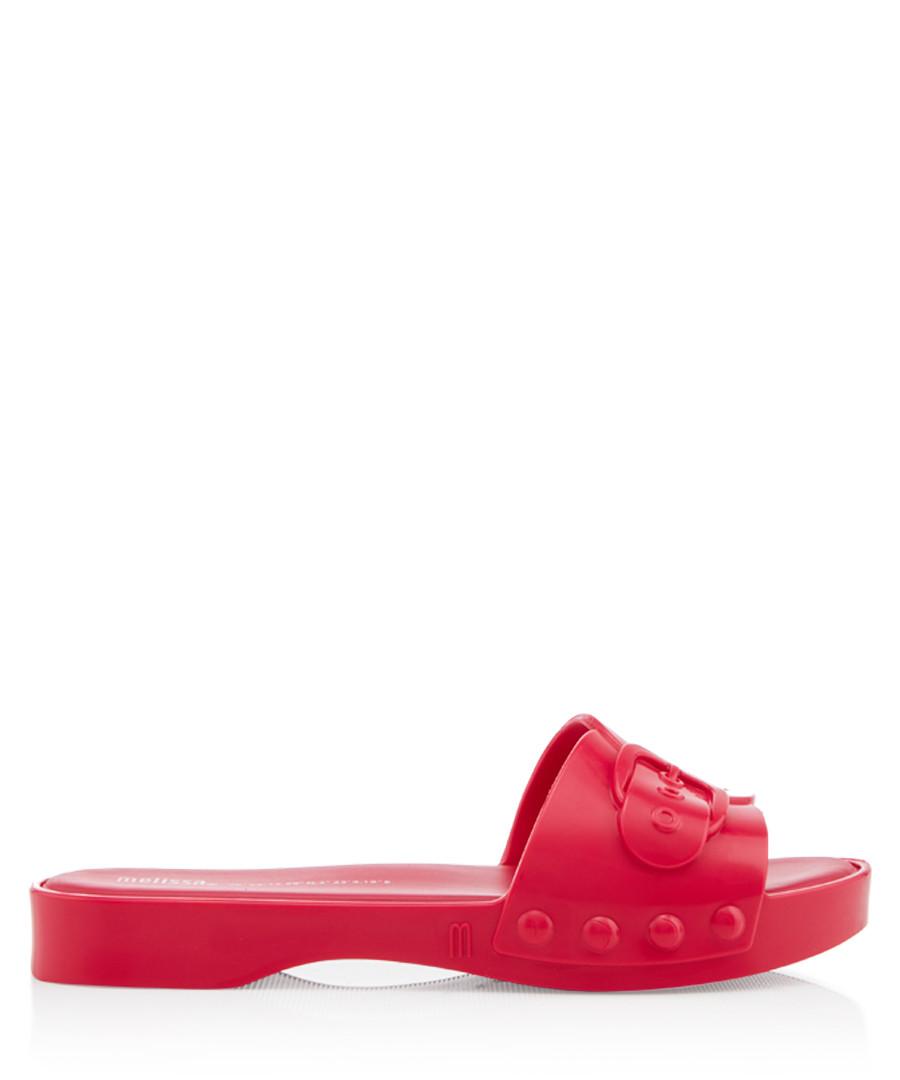 Belleville fuchsia sliders Sale - melissa shoes