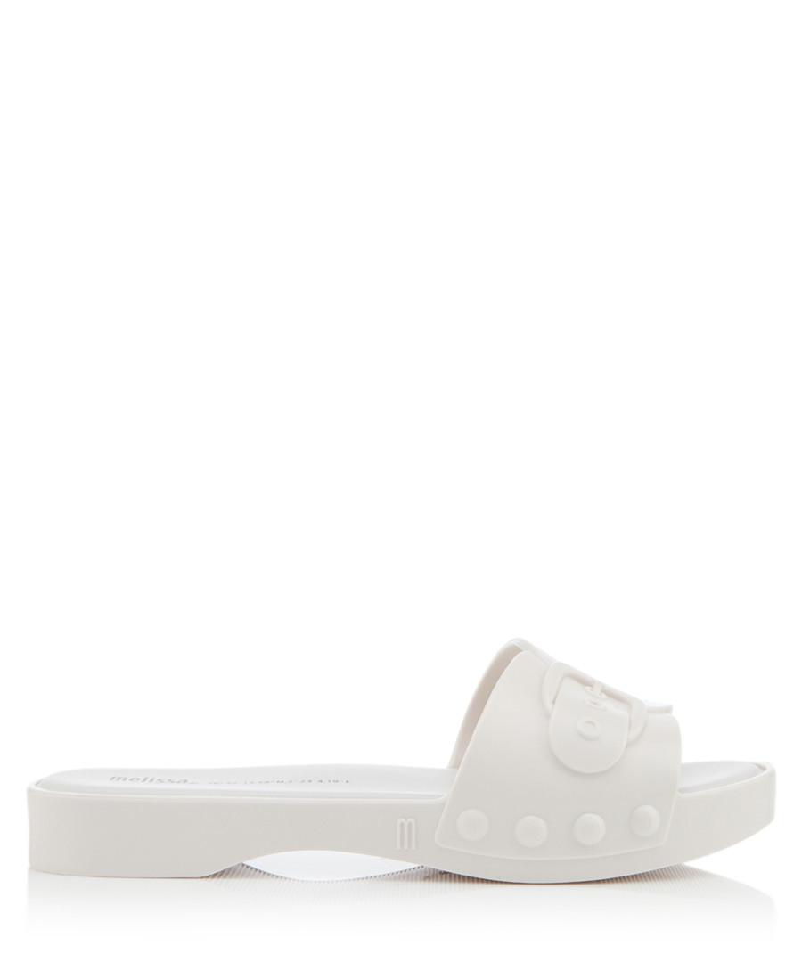 Belleville white sliders Sale - melissa shoes