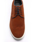 Tan suede perforated sneakers Sale - Eskina Sale