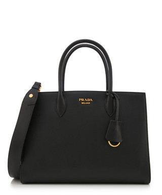 d4295cabd69 Bibliothèque black Saffiano leather tote Sale - Prada Sale