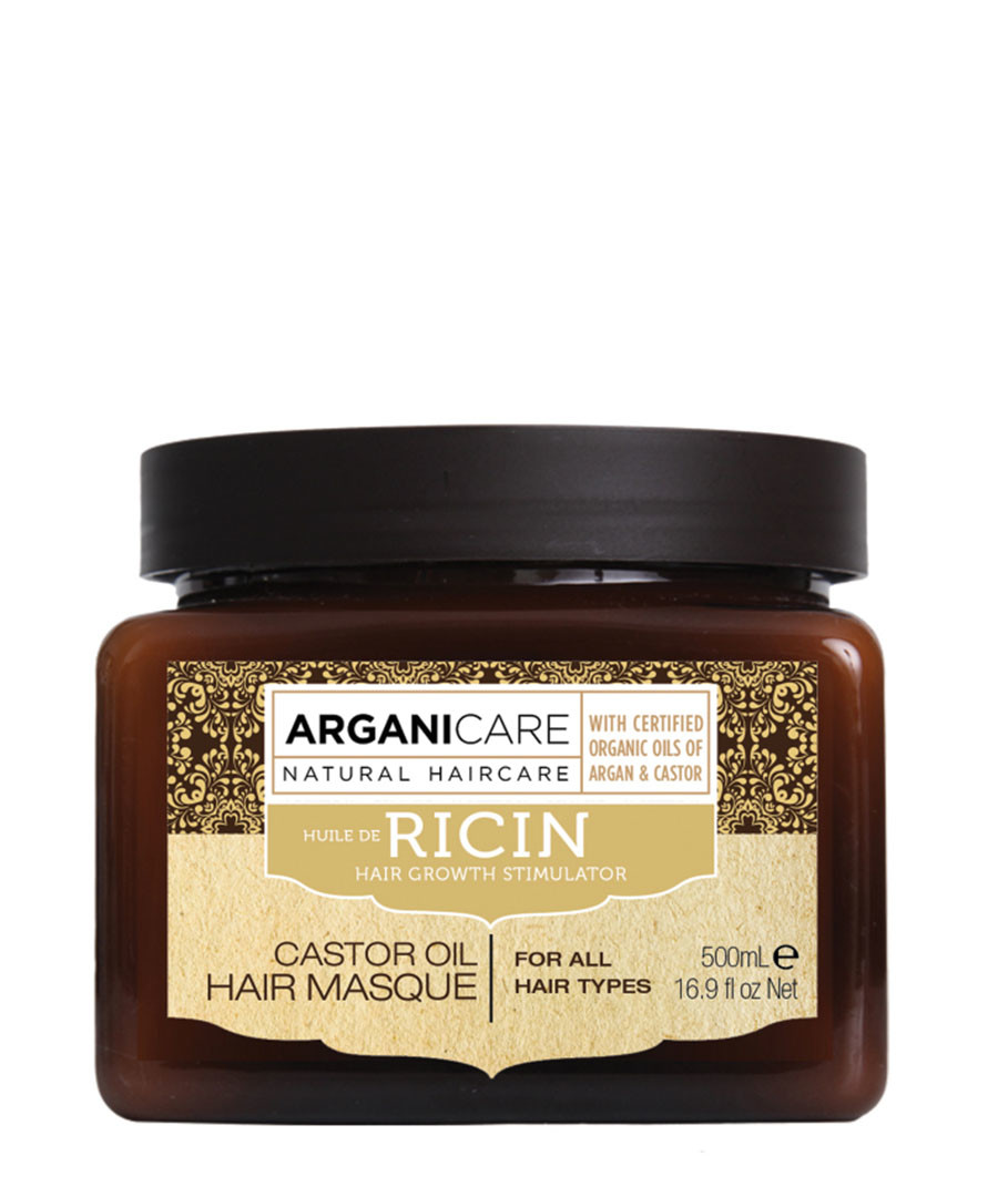 Re-texturing castor oil hair mask Sale - arganicare