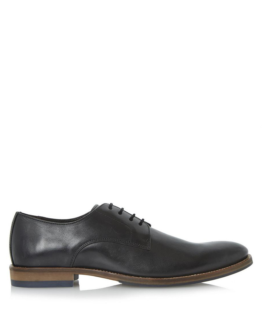 Brummie black leather Derby shoes Sale - dune