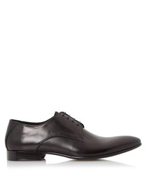 Rembrandt black leather Derby shoes