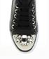 Women's black embellished sneakers Sale - DRG Derigo Sale