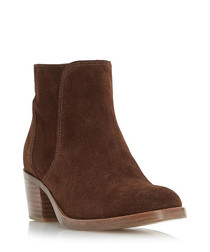 Pearson brown suede ankle boots