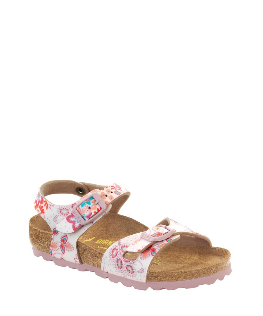a24a9c2fb6e Kids  Rio pink floral print sandals Sale - Birkenstock