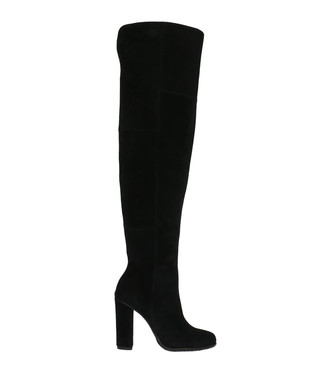 32bb5a3c754 Black leather knee high boots Sale - gino rossi Sale