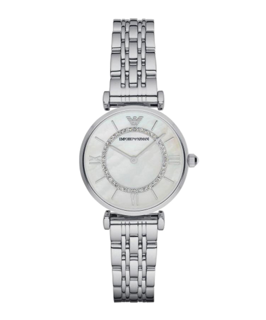 Silver-tone & mother of pearl watch Sale - Emporio Armani
