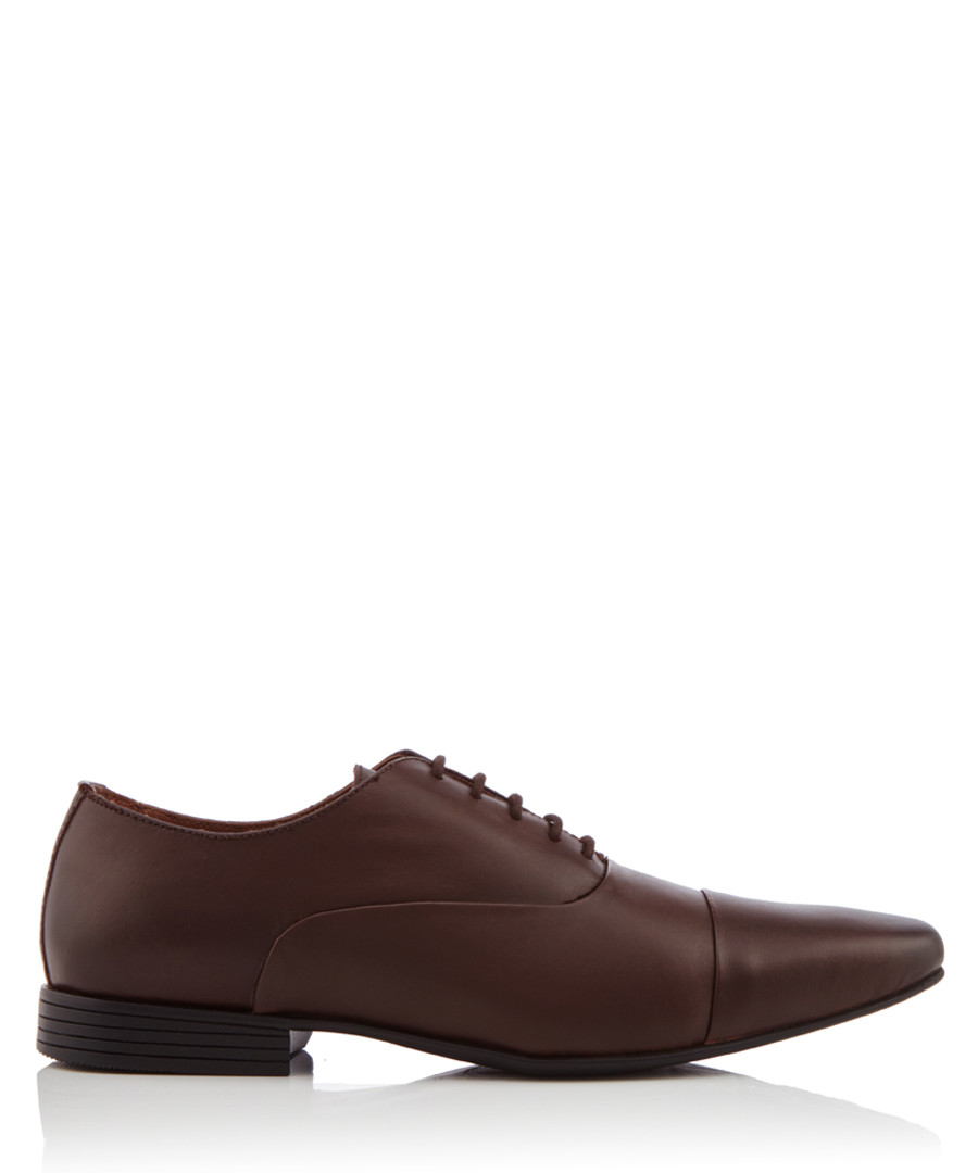 Kenwall brown leather Oxford shoes Sale - KG Kurt Geiger