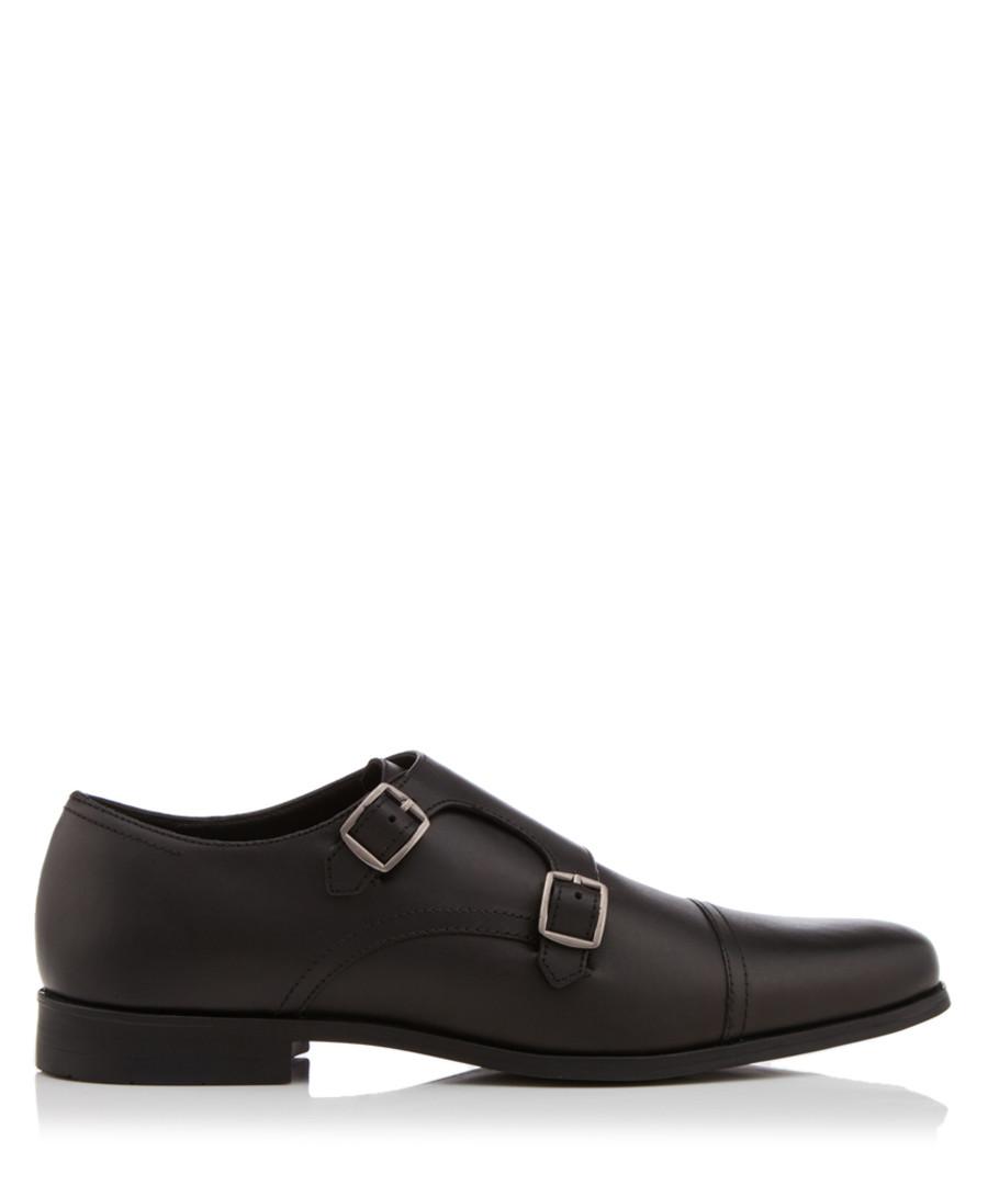 Manning black monkstrap shoes Sale - KG Kurt Geiger