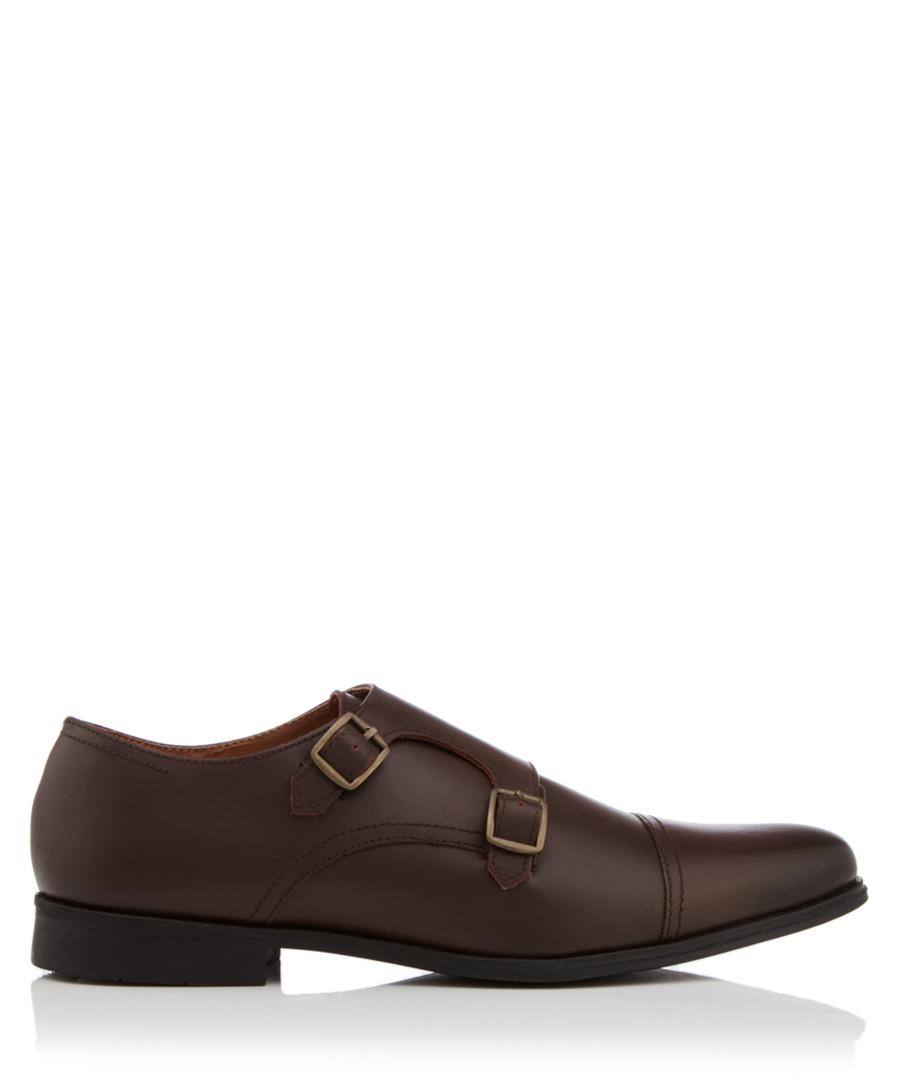Manning brown monkstrap shoes Sale - KG Kurt Geiger