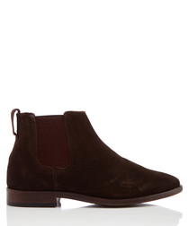 Guildford brown suede ankle boots