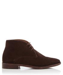 Marlow brown suede desert boots