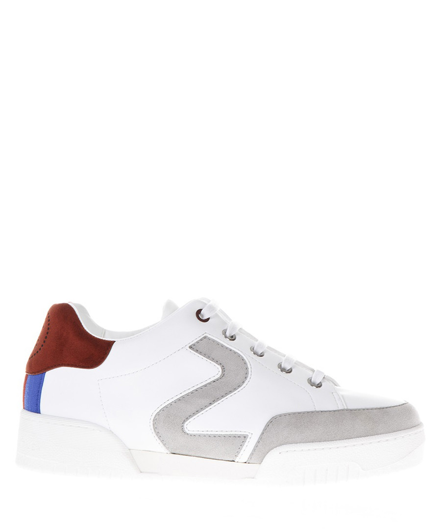 Stella white & grey sneakers Sale - stella mccartney