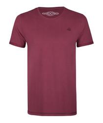 Bordeaux pure cotton T-shirt